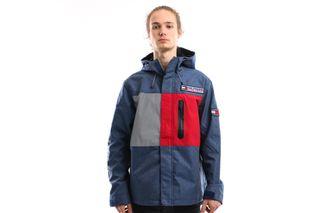 Foto van Tommy Hilfiger Jacket Tjm Sport Tech Jacket M1 Mid Blue Denim DM0DM07623