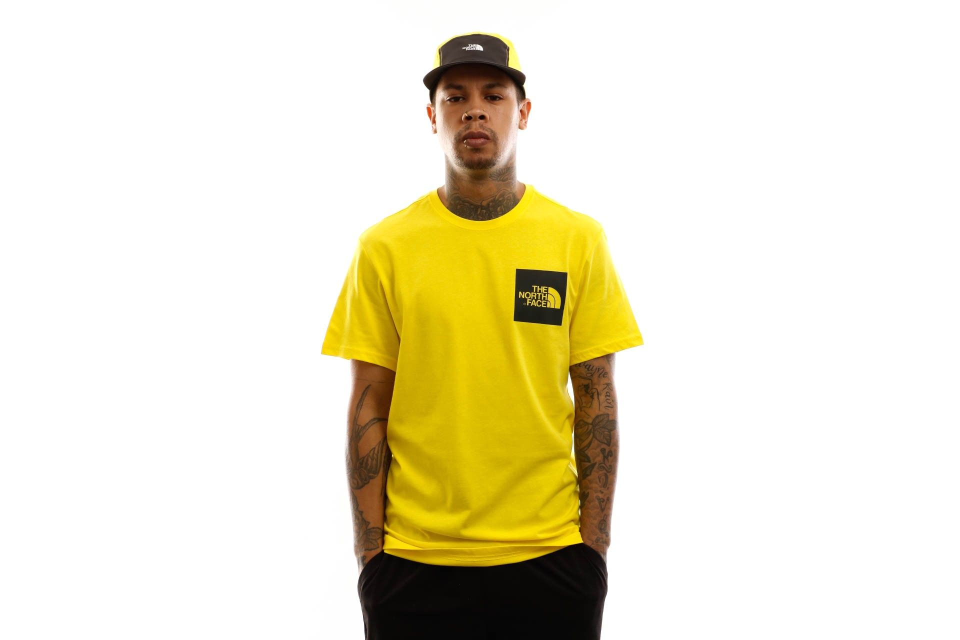 Afbeelding van The North Face T shirt M S/S Fine Tee Tnf Lemon NF00CEQ5DW9