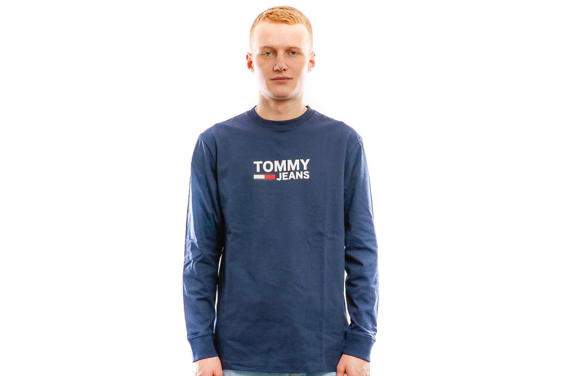 Afbeelding van Tommy Hilfiger T Shirt Tjm Tommy Classics Black Iris DM0DM05394002