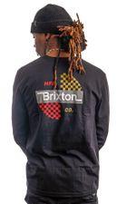 Brixton Longsleeve PANIC L/S STT Black 16587