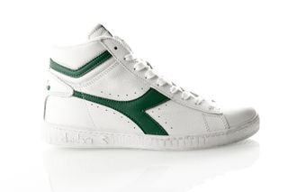 Foto van Diadora Game L High Waxed 501159657 Sneakers White/Fogliage