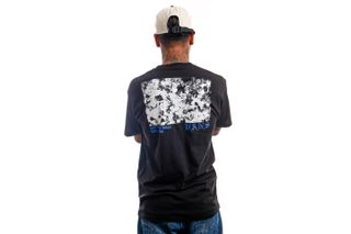 Foto van Vans T-Shirt MN POPPY FIELD SS Black VN0A5KCNBLK1