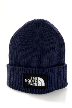 Afbeelding van The North Face Muts TNF LOGO BOX CUFFED SHT TNF NAVY NF0A3FJXL4U1