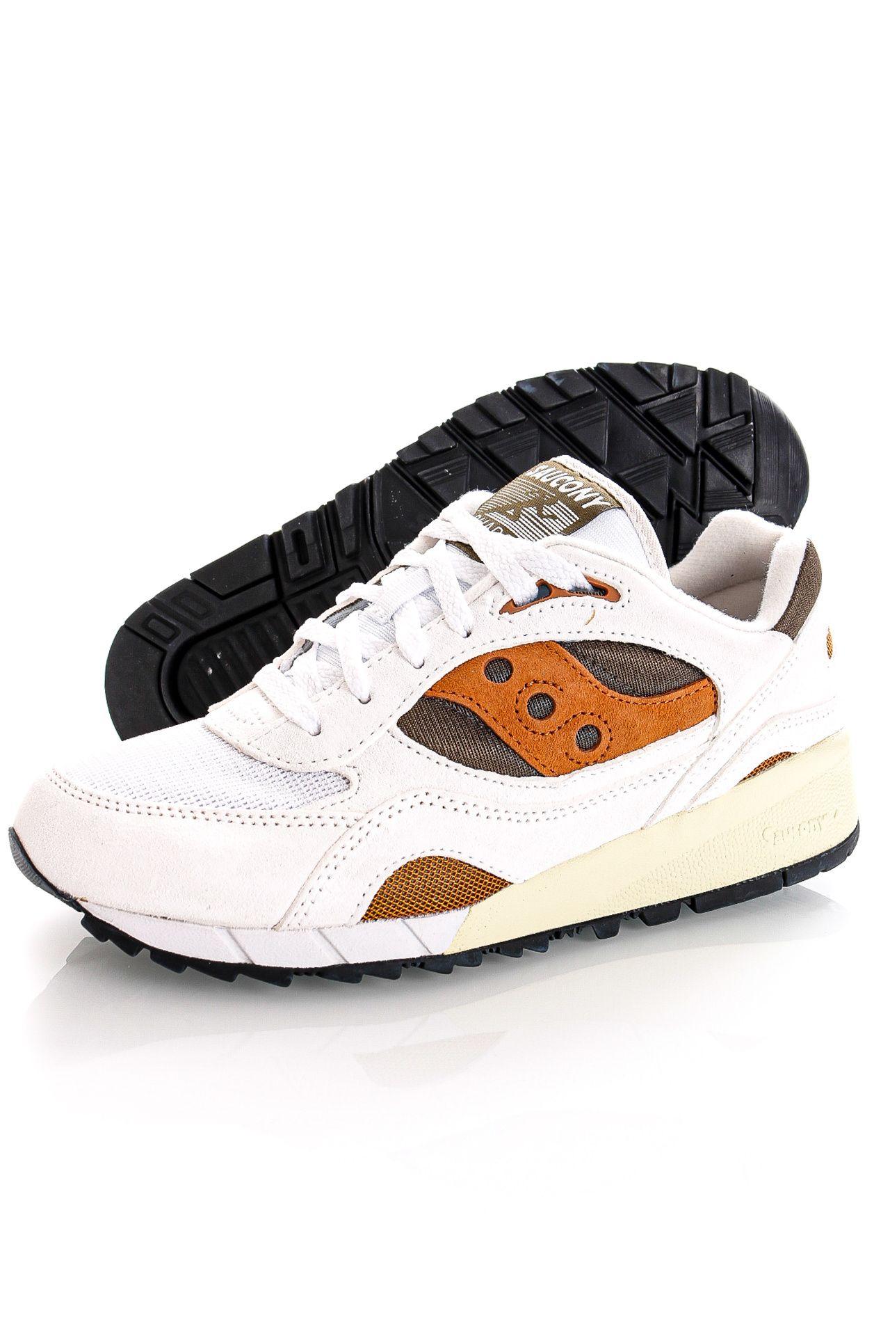 Afbeelding van Saucony Sneakers Shadow 6000 White/Rust S70441-14
