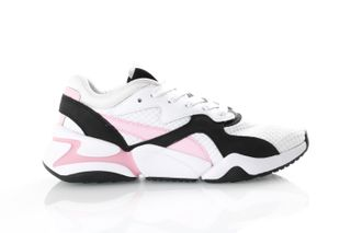 Foto van Puma Nova 90's Block 369486 Sneakers Puma White-Pale Pink