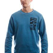 Reell Jeans Longsleeve Space Longsleeve Blue Melange 1303-005