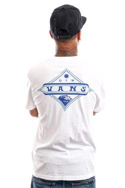 Afbeelding van Vans T-Shirt Vintage Pointed White VN0A5E7FWHT1
