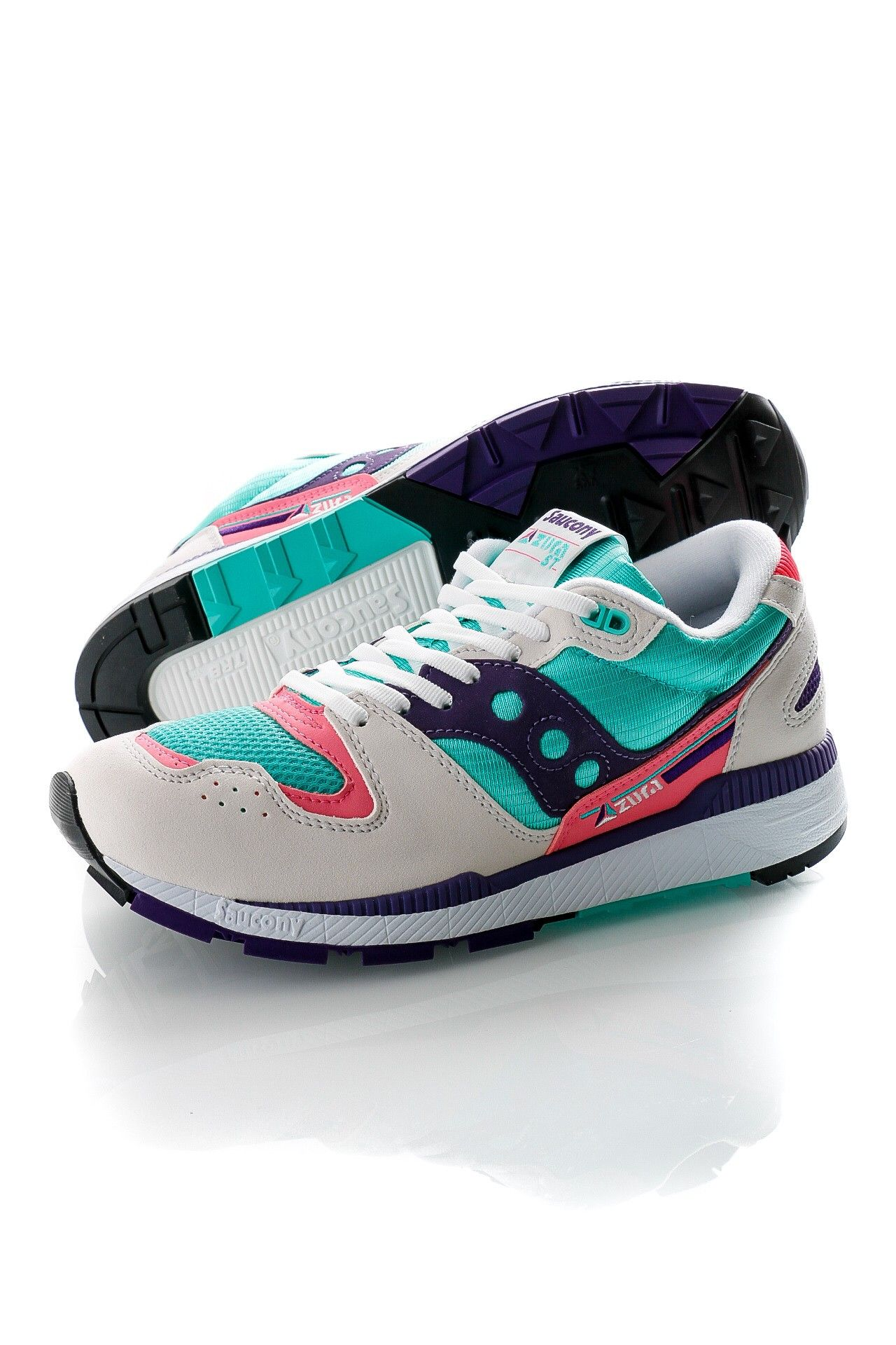 Afbeelding van Saucony Sneakers Azura White/Teal/Indigo S70437-35