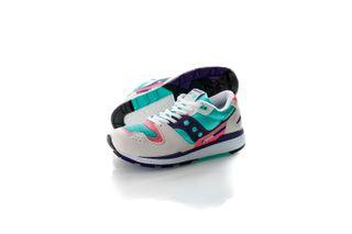 Foto van Saucony Sneakers Azura White/Teal/Indigo S70437-35
