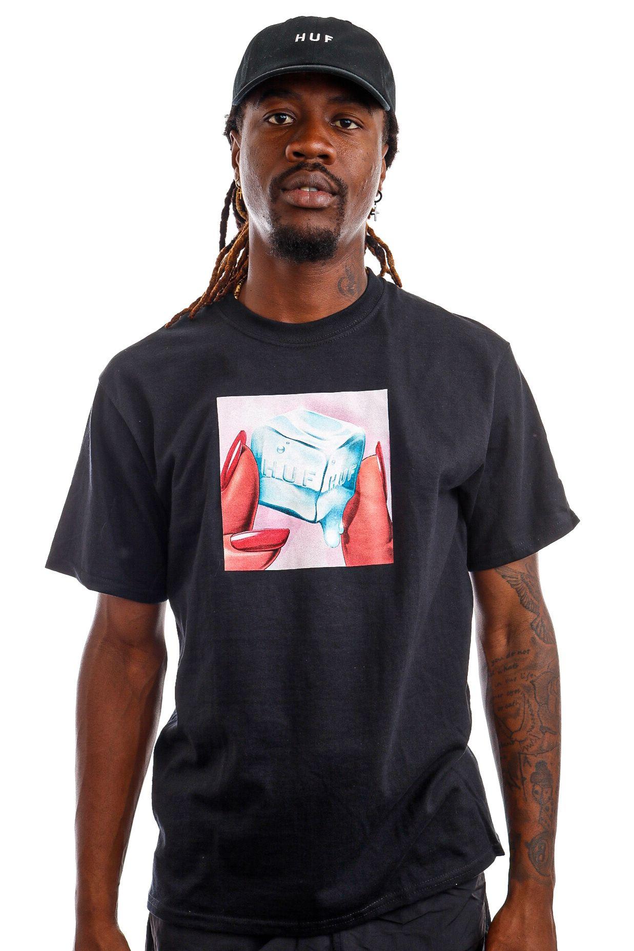 Afbeelding van HUF T-Shirt HUF ICE MELTS Black TS01415