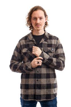 Afbeelding van Dickies Overhemd Sacramento Shirt Grey Melange DK0A4X8NGYM1