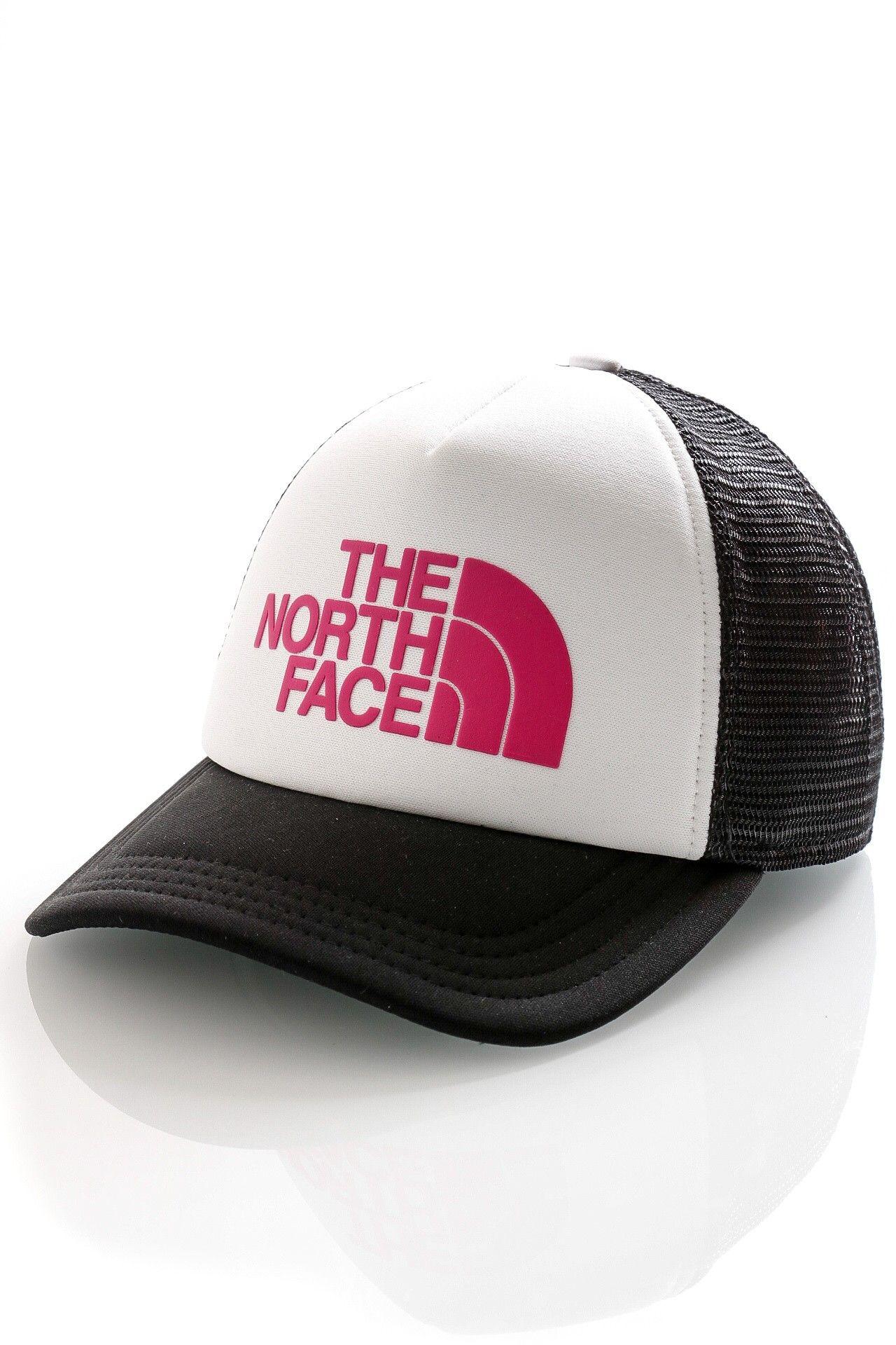 Afbeelding van The North Face Trucker Cap Tnf Logo Trucker Tnf White/Mr Pink NF0A3FM3P81