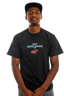 Afbeelding van HUF T-Shirt HUF GAME OVER S/S Black TS01523