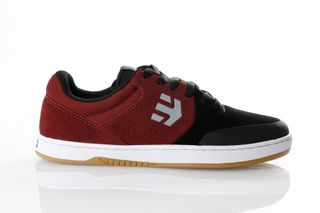 Foto van Etnies Marana 4101000403 Sneakers Black/Dark Grey/Red