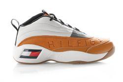 Afbeelding van Tommy Hilfiger Sneakers The Skew Heritage Sudan brown/pumicestone/dusty olive EM0EM00375