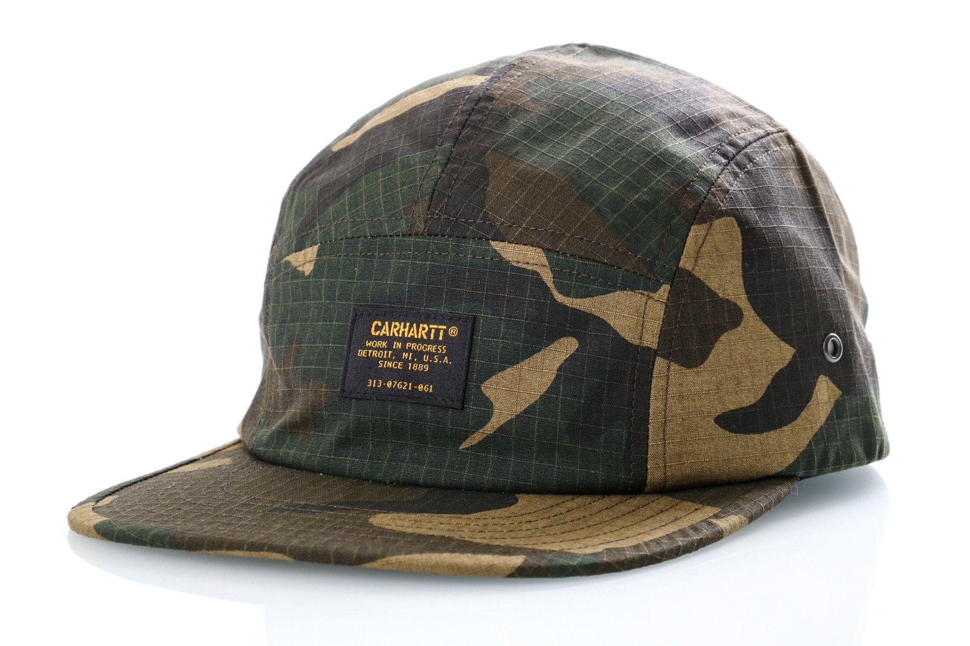 Afbeelding van Carhartt WIP Dad Cap Military Cap Camo Laurel I024308