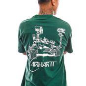 Carhartt T-shirt S/S Orbit T-Shirt Treehouse / White I029928