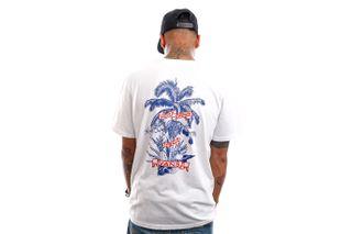 Foto van Vans T-Shirt Market Print White VN0A5E7DWHT1