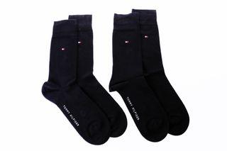 Foto van Tommy Hilfiger Th Men Sock Classic 2P 371111 Sokken Black