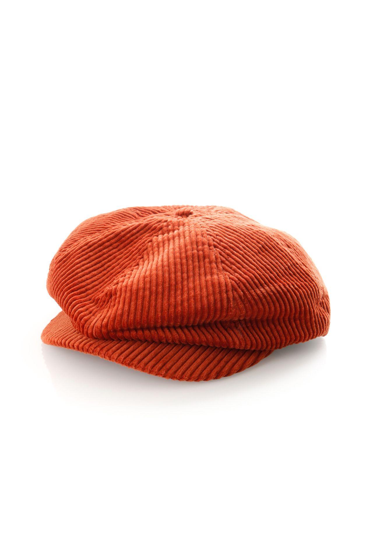 Afbeelding van Brixton Flatcap Brood Cord Snap Cap Picante 10423