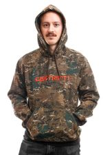 Carhartt Hooded Hooded Carhartt Sweat Camo Combi / Safety Orange I027093