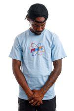 HUF T-Shirt HUF CHEMISTRY Light Blue TS01418