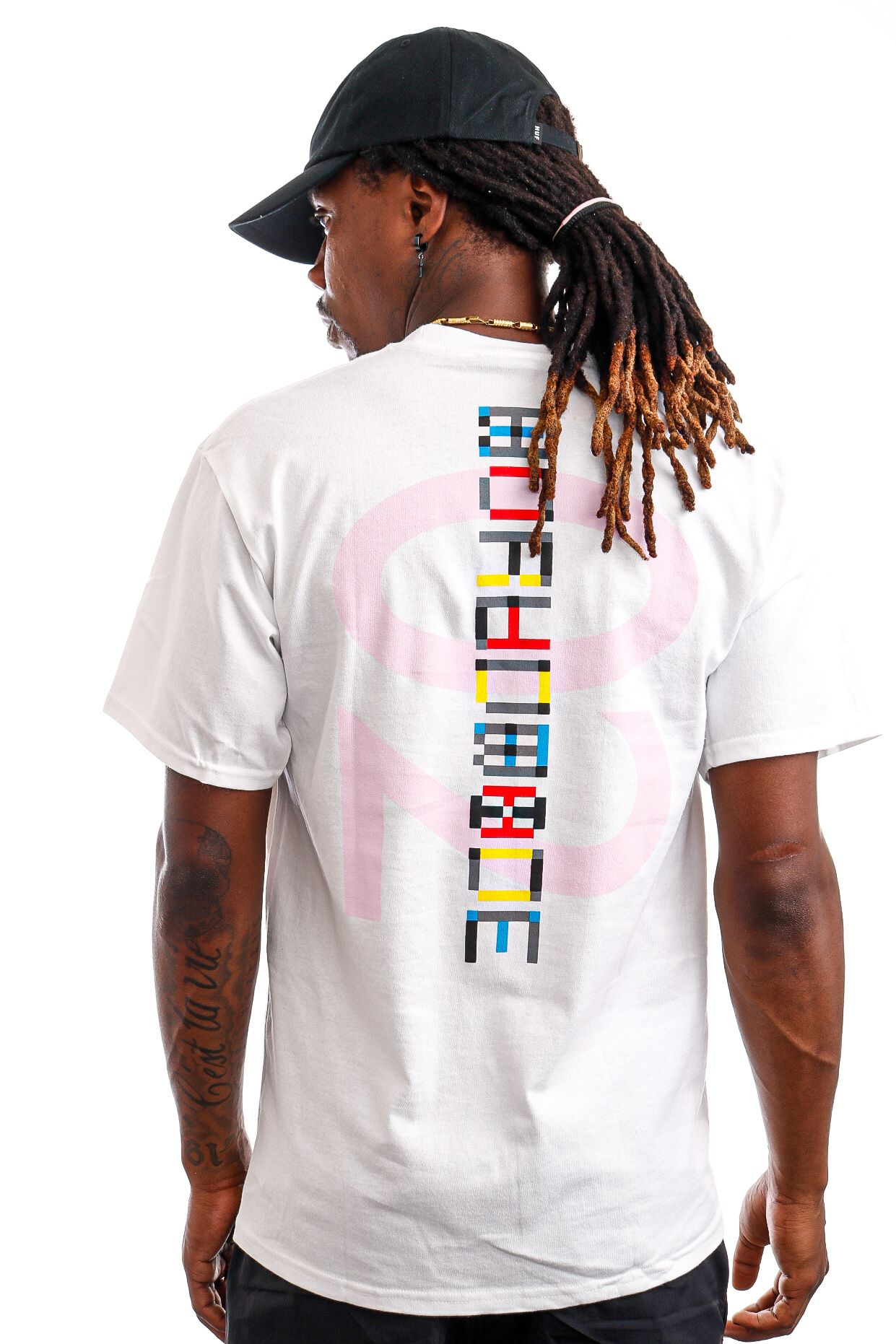 Afbeelding van HUF T-Shirt HUF CONFUSION White TS01422