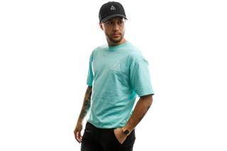 Foto van HUF T-shirt Essentials Tt S/S Tee Mint TS00509-MINT