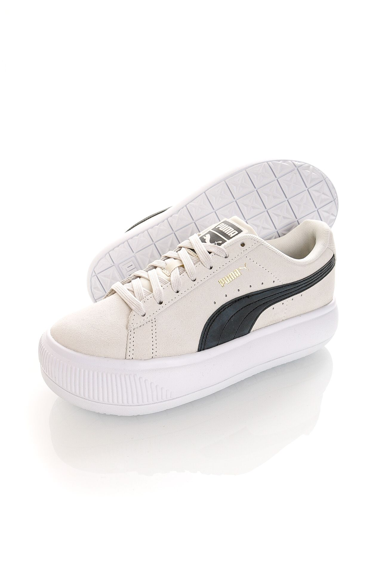 Afbeelding van Puma Sneakers Suede Mayu Marshmallow-Puma White-Puma Black 38068601