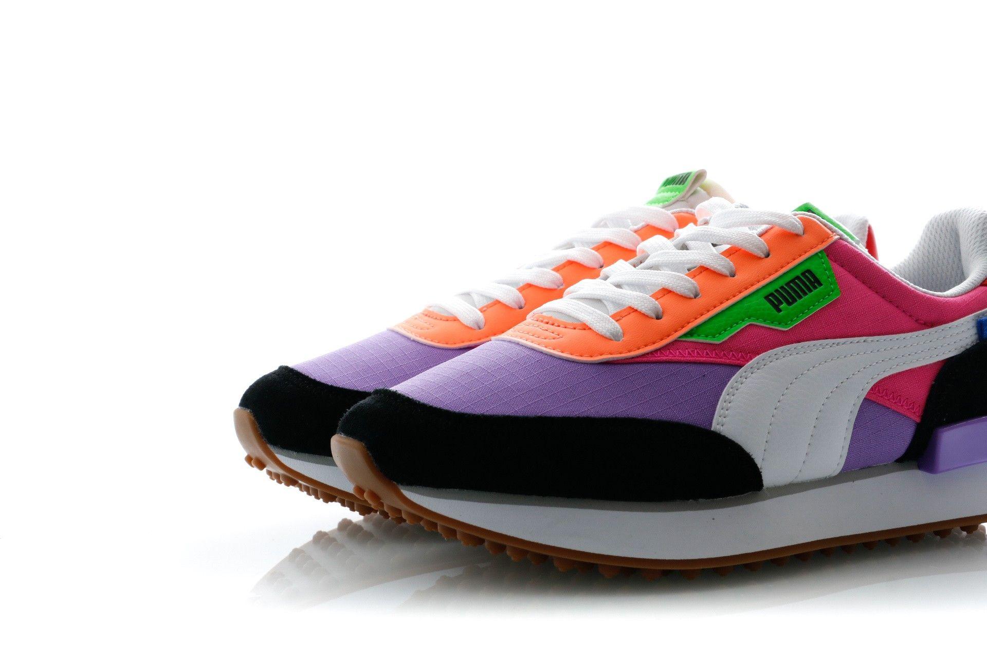 Puma Sneakers Rider Play On Luminous Purple Fluo Pink 371149 03