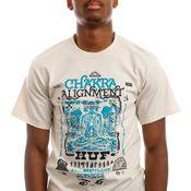 HUF T-Shirt HUF CHAKRA ALIGNMENT S/S Naturel TS01501