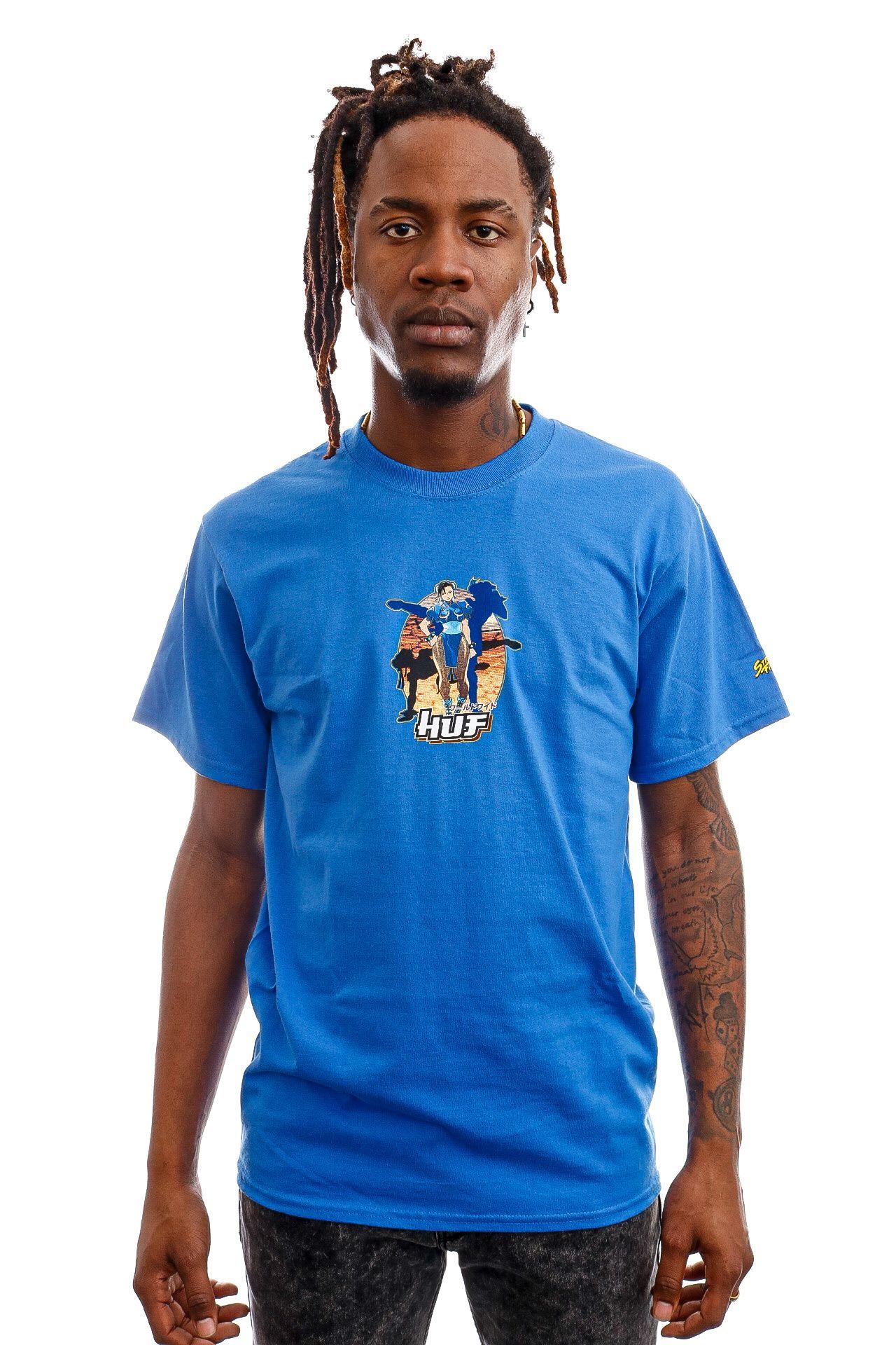 Afbeelding van HUF T-Shirt Chun-Li S/S Tee Royal TS01555