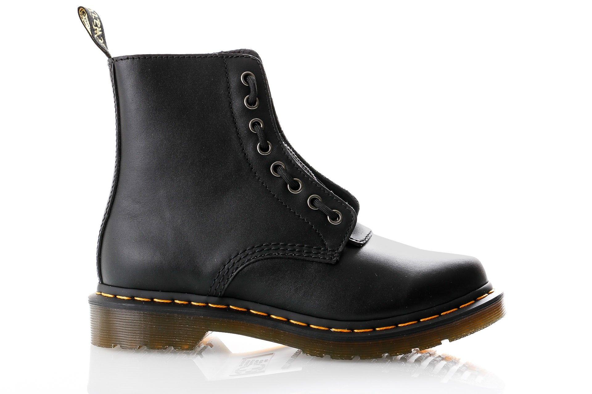 Afbeelding van Dr. Martens Boots 1460 Pascal Frnt Zip Black Nappa 23863001