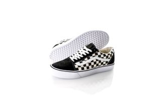 Foto van Vans Ua Old Skool Lite Va2Z5W5Gx Sneakers (Checkerboard) Black/White