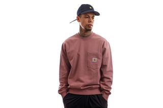 Foto van Carhartt Crewneck Pocket Sweat Malaga I027681