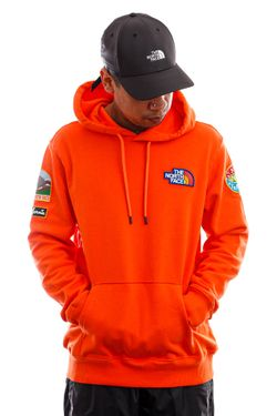 Afbeelding van The North Face Hoodie Mens Novelty Patch Pullover Hoodie Flame NF0A55UGV3Q1