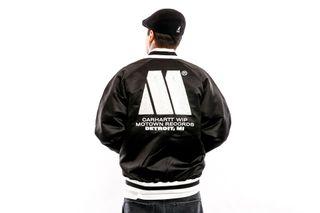 Foto van Carhartt WIP Jacket Motown Varsity Jacket Black I027168