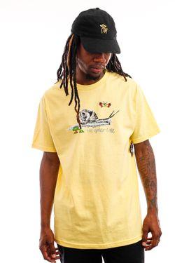 Afbeelding van The Quiet Life T-shirt Snail Tee Banana QL-21SPD2-2122