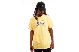 Foto van The Quiet Life T-shirt Snail Tee Banana QL-21SPD2-2122