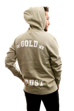Afbeelding van In Gold We Trust Hooded The Notorious Olive green IGWTH-011-O