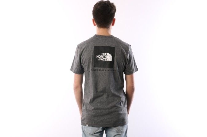 Afbeelding van The North Face T92Tx2-Jbv T-Shirt Redbox Grey