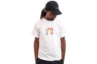 Foto van HUF T-Shirt HUF FOIL FLOWER BOX LOGO White TS01425
