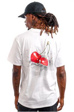 Afbeelding van HUF T-Shirt HUF WET CHERRY White TS01419