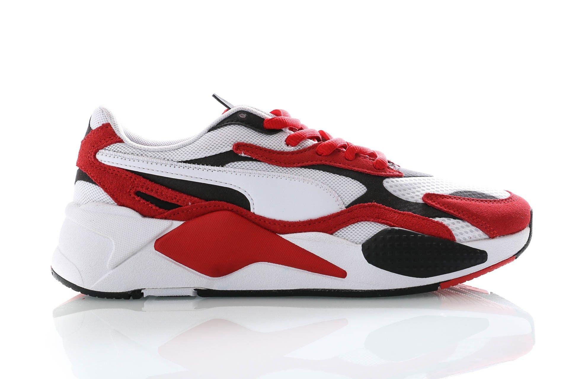 Afbeelding van Puma Sneakers Rs-X³ Super Puma White-High Risk Red 372884 01