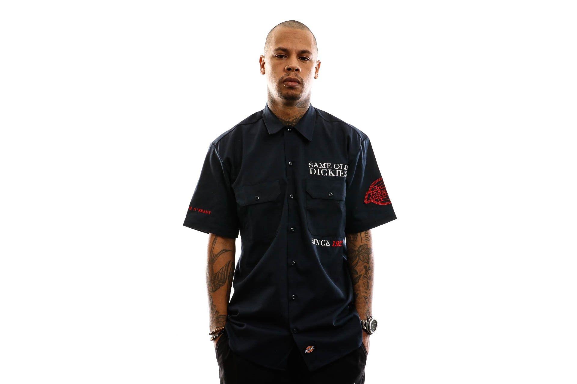 Afbeelding van Dickies Overhemd Lenox Shirt Dark Navy DK0A4TLM