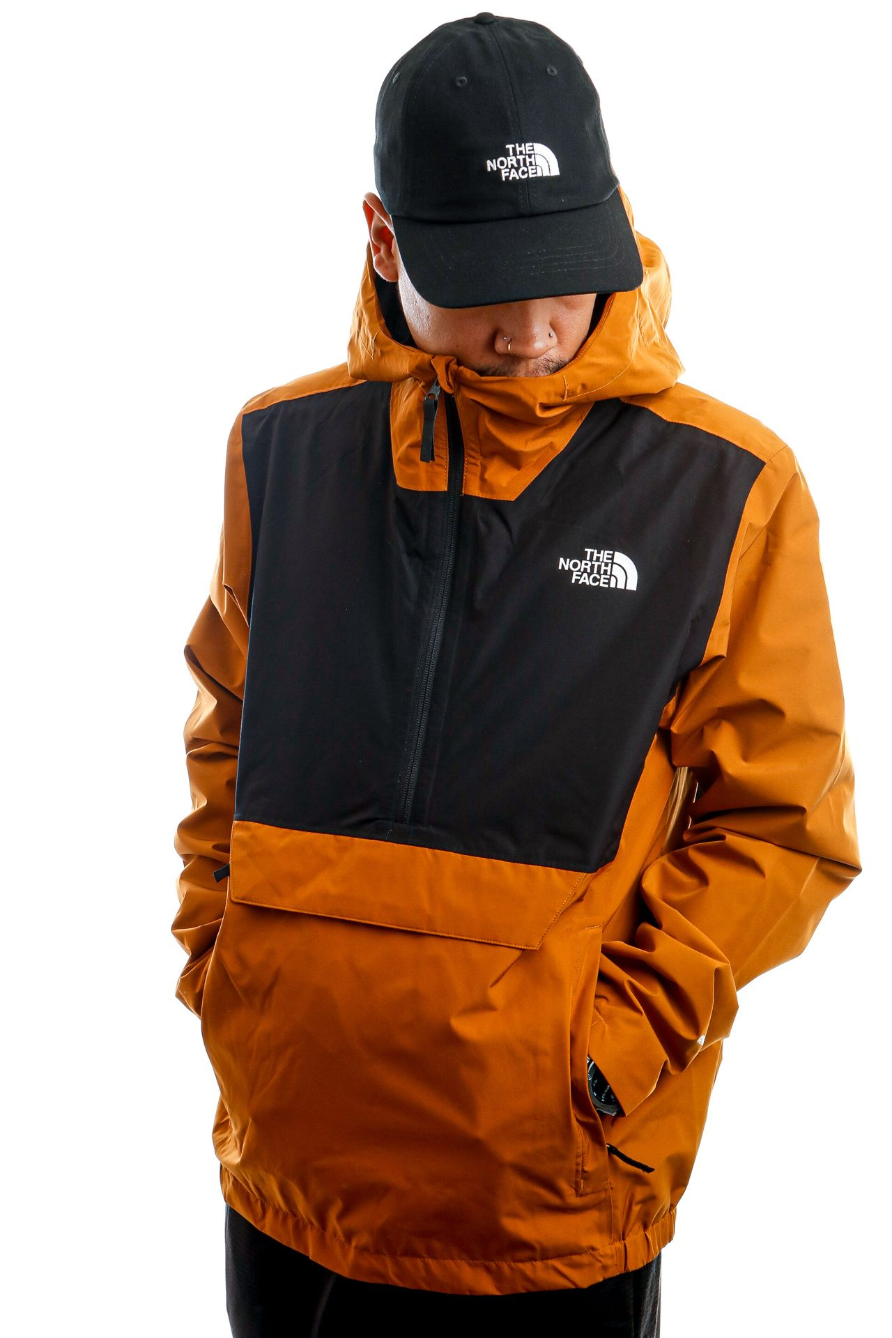 Afbeelding van The North Face Jas M Waterproof Frnk Timber Tan NF0A3XZMVC71