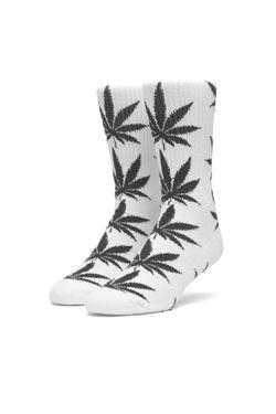 Afbeelding van HUF Sokken Essentials Plantlife Sock White SK00298