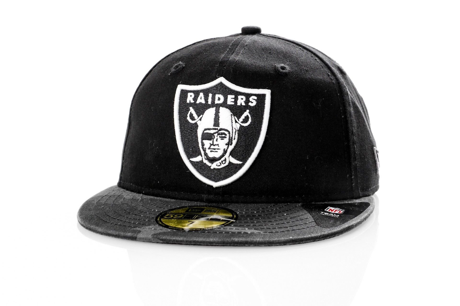 Afbeelding van New Era Fitted Cap Oakland Raiders WASHED CAMO 59FIFTY 80580942