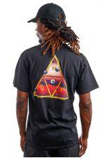 HUF T-Shirt HUF ALTERED STATE Black TS01420
