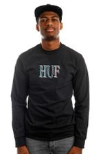 HUF Longsleeve HUF 8-BIT L/S Black TS01490